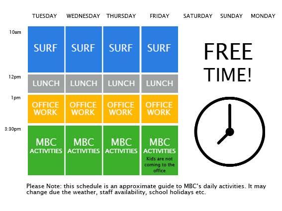 MBC-schedule