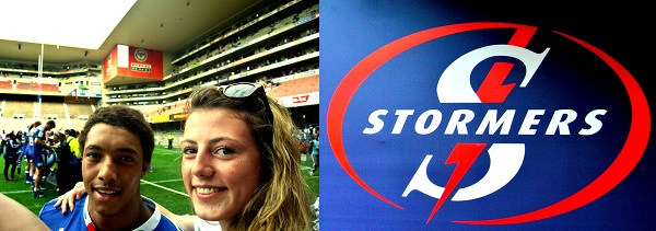 Myself & Stormers player Jurie van Vuuren!