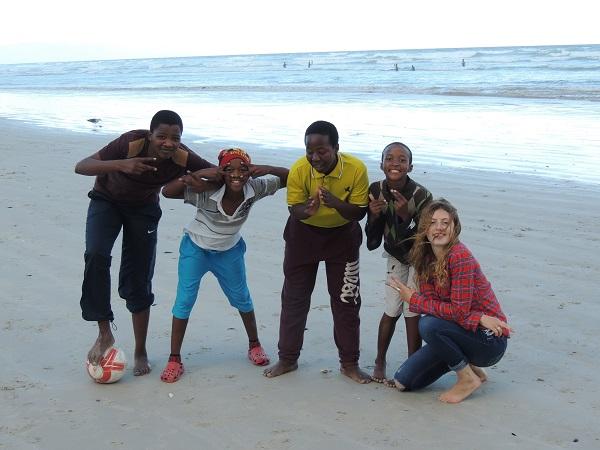 Yanga, Siminkiwe, Mike, Godefrey and Ailsa